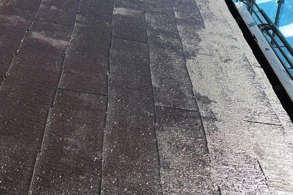静岡県浜松市 屋根塗装 付帯部塗装 縁切り タスペーサー 日本中央研究所 遮熱塗料 アドグリーンコート